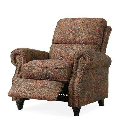 Fashionable Hercules Chocolate Swivel Glider Recliners Pertaining To Recliner – Chairs – Living Room Furniture – The Home Depot (View 11 of 20)