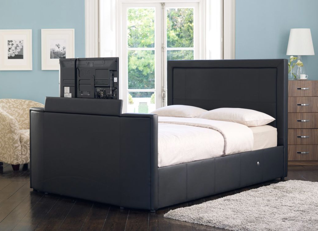 Favorite 32 Inch Tv Beds In Montreal Tv Bed – Black (View 8 of 20)