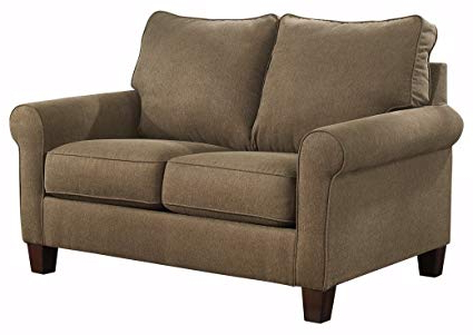 Favorite Allie Dark Grey Sofa Chairs In Amazon: Ashley Furniture Signature Design – Zeth Sleeper Sofa (View 11 of 20)