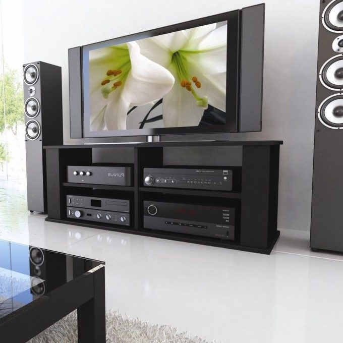 Favorite Annabelle Black 70 Inch Tv Stands With Furniture: 70 Inch Tv Stand For Family And Living Room (View 15 of 20)