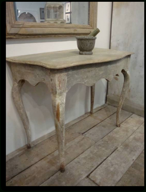 Favorite Antique White Distressed Console Tables Pertaining To Distressed Console Table Keywords:gustavian, Gustavian Furniture (View 10 of 20)