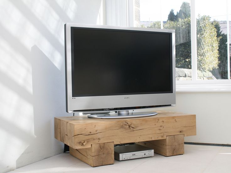 Favorite Beech Tv Stands Pertaining To Oak Beam Tv Stand #indigocollections (View 8 of 20)