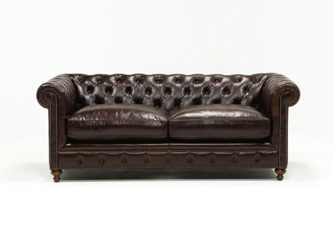 Favorite Mansfield Cocoa Leather Sofa Chairs For Mansfield 86 Inch Cocoa Leather Sofa (View 7 of 20)