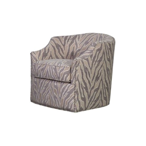 Favorite Winchester Light Taupe Swivel Chair – Empire Manor Regarding Manor Grey Swivel Chairs (View 5 of 20)