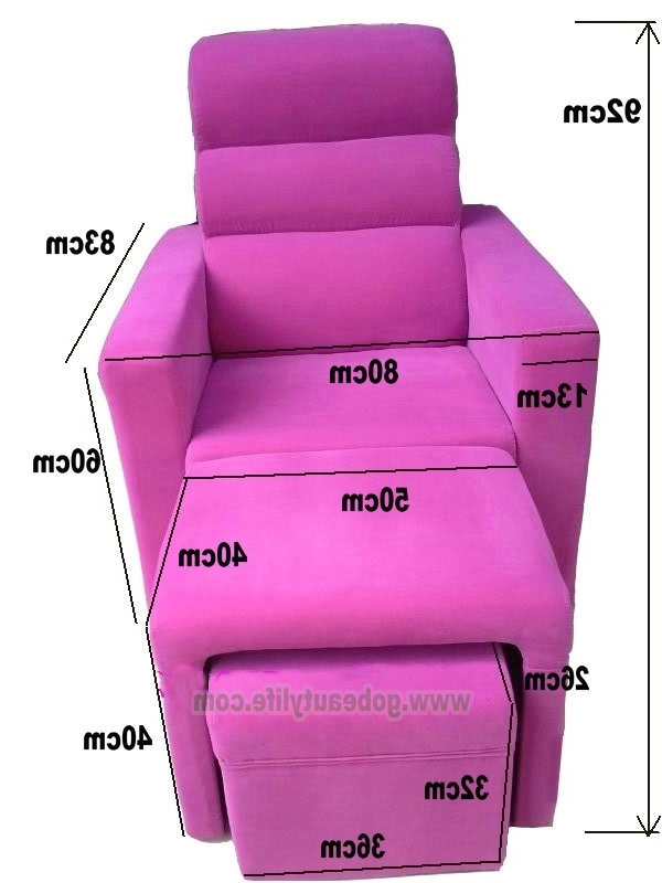 Foot Massage Sofa Bl I821 Beauty Life Salon Equipment Co (View 12 of 20)