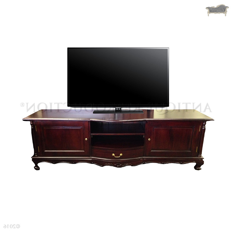 French Provincial Tv Stand Antique Style – Antique Reproduction Shop With Regard To Well Liked Antique Style Tv Stands (View 11 of 20)