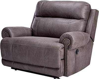Gannon Truffle Power Swivel Recliners In Newest Amazon: Ashley Furniture Signature Design – Barling Luxury Faux (Gallery 5 of 20)