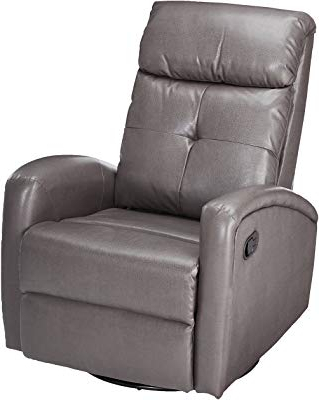 Gannon Truffle Power Swivel Recliners Pertaining To Most Up To Date Amazon: Ashley Furniture Signature Design – Barling Luxury Faux (View 7 of 20)