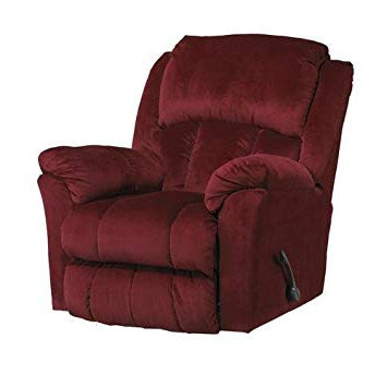 Gibson Swivel Cuddler Chairs Regarding Most Popular Amazon: Catnapper Gibson Swivel Glider Recliner – Berry: Kitchen (Gallery 3 of 20)