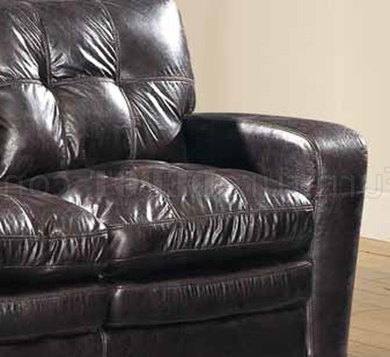 Gina Grey Leather Sofa Chairs Intended For Latest Gina Sofa In Brown Bonded Leather W/optional Loveseat & Chair (View 17 of 20)