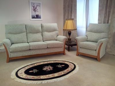 Grace Sofa Chairs With Popular Yeoman Grace 2 Seat 3 Seat Sofas And Arm Chairs Recliner Chair (View 8 of 20)