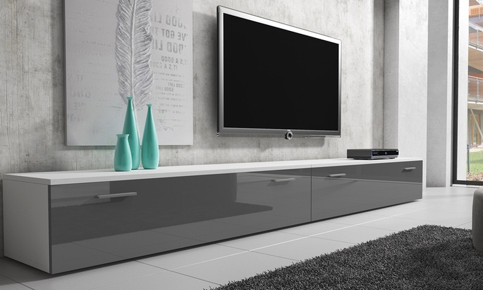 Groupon Goods Within 100Cm Width Tv Units (View 10 of 20)