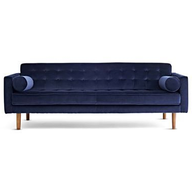 """Happy Chicjonathan Adler Crescent Heights Tufted 85"""" Sofa For Favorite Alder Grande Ii Sofa Chairs (View 7 of 12)"""