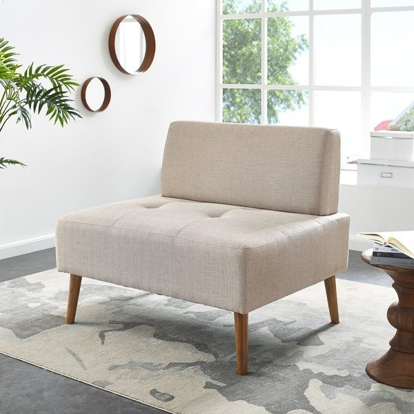 Harper Down Oversized Sofa Chairs Inside Most Recent Shop Harper Blvd Altus Armless Chair And A Half – Free Shipping (Gallery 10 of 20)
