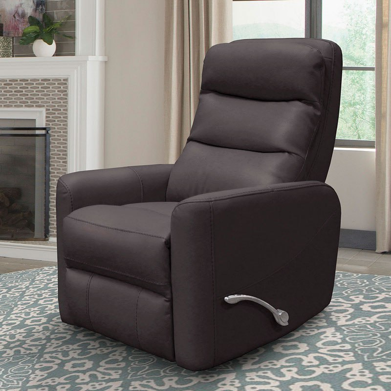 Featured Photo of Hercules Chocolate Swivel Glider Recliners