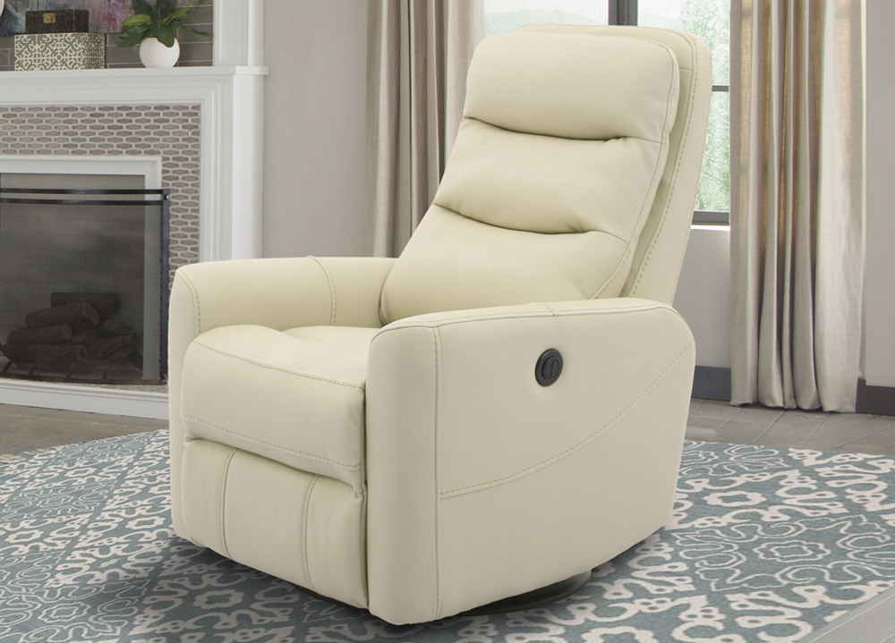 Hercules Oyster Swivel Glider Recliners With Regard To Newest Hercules Anywhere Oyster Power Recliner With Glider, Swivel (Gallery 1 of 20)