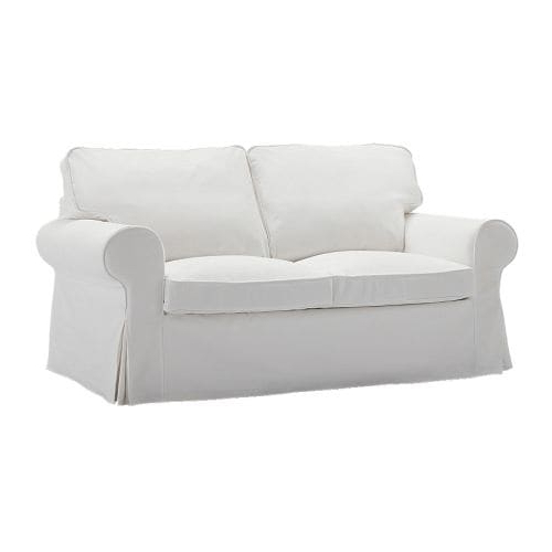Ikea Sofa Chairs Regarding Recent Ektorp Two Seat Sofa Blekinge White – Ikea (View 9 of 20)
