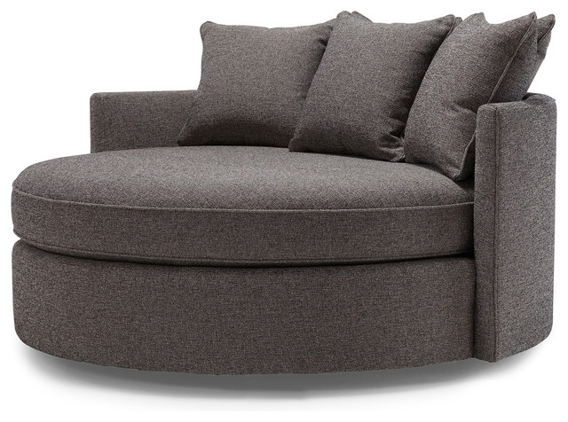 Jeanie Round Chair & 1/2 – Contemporary – Sofas  Mitchell Gold + Inside Current Circle Sofa Chairs (View 11 of 20)