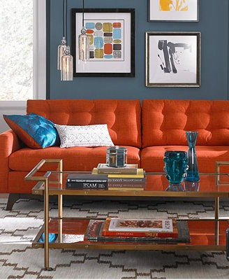 Karlie Fabric Sofa Living Room Furniture Collection (View 6 of 20)