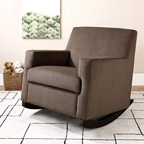 Katrina Beige Swivel Glider Chairs With Regard To Most Recently Released Amazon: Baby Relax The Naomi Nursery Rocker Chair, Brown: Baby (View 17 of 20)