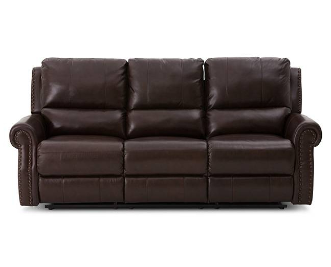 Lancaster Power Reclining Sofa – Furniture Row Within Most Popular Sofa Chair Recliner (View 10 of 20)