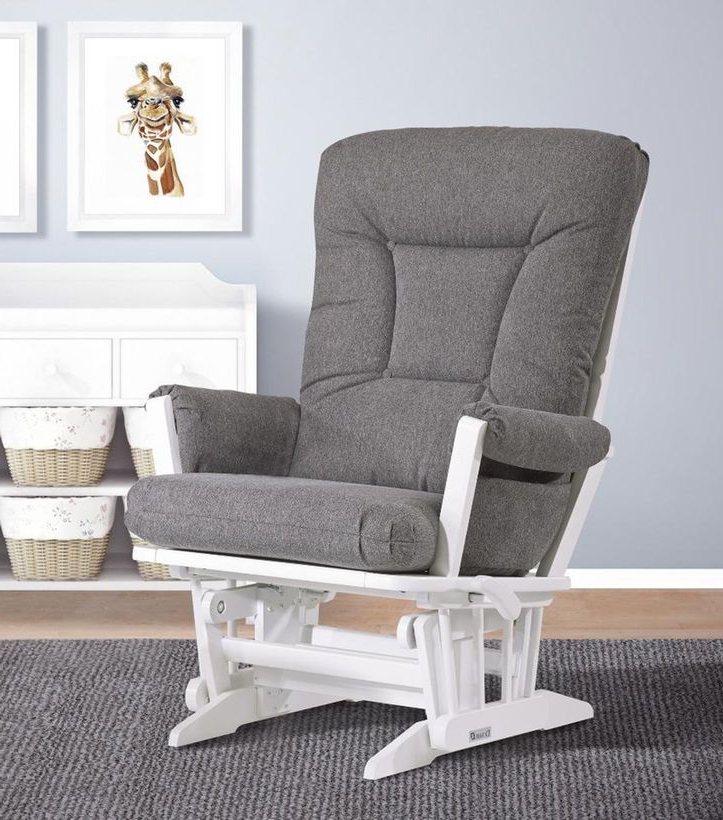 Latest Bailey Roll Arm Skirted Swivel Gliders Throughout Https://truimg.toysrus/product/images/dutailier Modern Grande (Gallery 20 of 20)