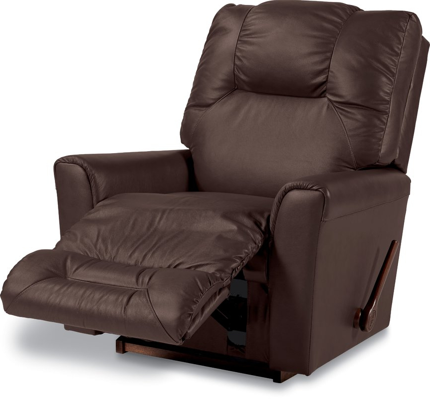 Latest Blue Leather Recliners You'll Love (Gallery 2 of 20)