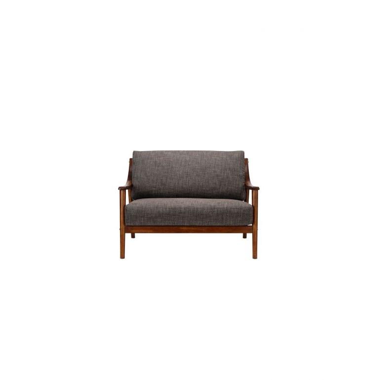 Latest Brennan 2 Seater (Fab) Lava Fabric Sofa – Sofa & Armchairs Inside Brennan Sofa Chairs (View 10 of 20)