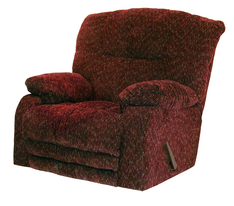 Latest Maris Oversized Rocker Recliner In Wine Color Fabriccatnapper Pertaining To Mari Swivel Glider Recliners (View 6 of 20)