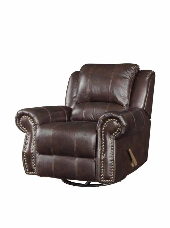 Latest Swivel Tobacco Leather Chairs Regarding Sir Rawlinson Motion Collection – Sir Rawlinson Traditional Tobacco (Gallery 17 of 20)