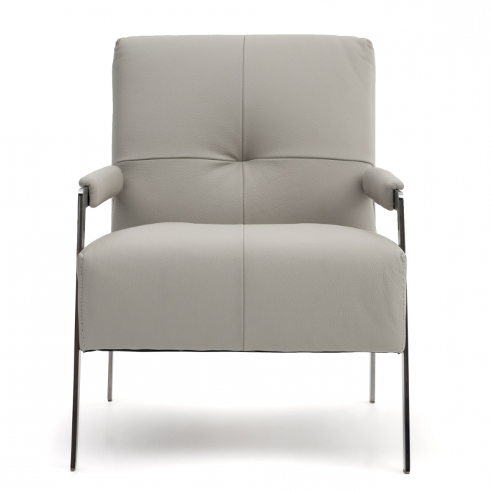 Latest Walter Leather Sofa Chairs In Classic Accent Chair For The Living Room (View 8 of 20)