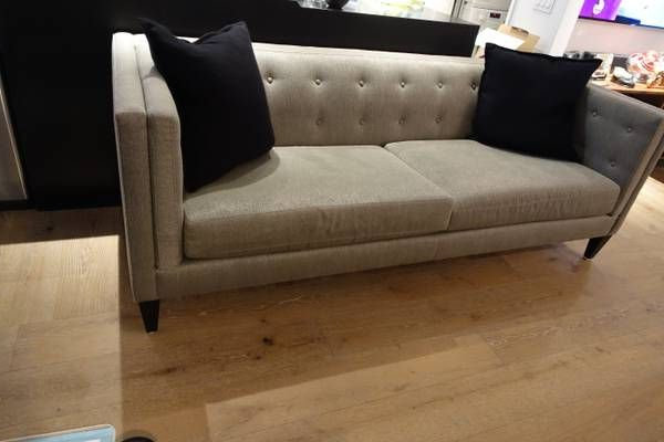 Like New, Used (2 Yrs) Aidan Sofa From Crate & Barrel. I Paid Inside Famous Aidan Ii Sofa Chairs (Gallery 20 of 20)