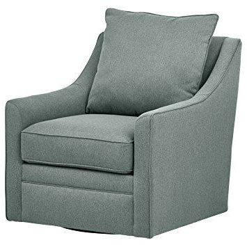 Living In Loft Smokey Swivel Accent Chairs (View 3 of 20)