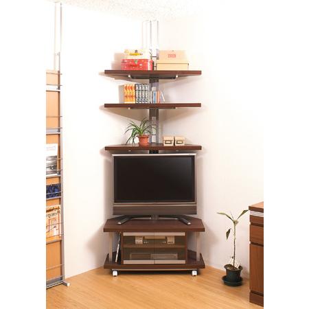 Livingut: Snack Corner Type Width 90 Cm + Prop Corner Rack 3 Stage Regarding Well Liked 24 Inch Corner Tv Stands (View 11 of 20)