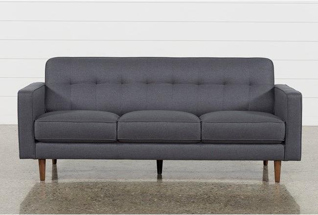 London Dark Grey Sofa Chairs Within Fashionable London Dark Grey Queen Sleeper In 2018 (Gallery 1 of 20)