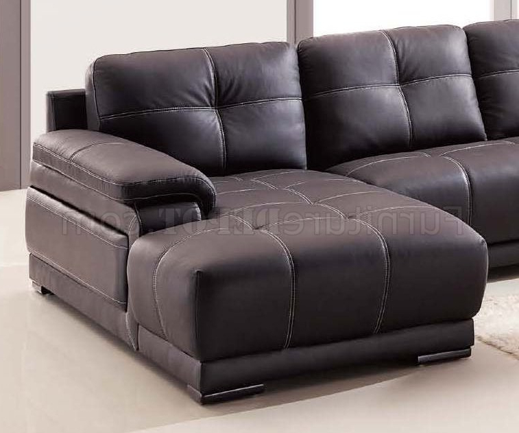 Lucy Dark Grey Sofa Chairs In Well Liked Lucy Sectional Sofa In Dark Brown Bonded Leather (View 13 of 20)