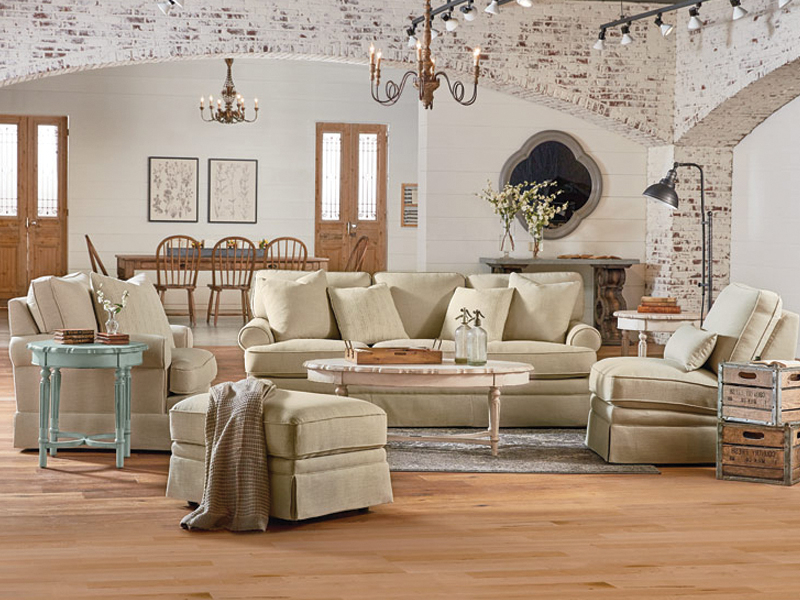 Magnolia Home Dapper Fog Sofa Chairs With Current Traditional Heritage Collectionmagnolia Home (View 9 of 20)