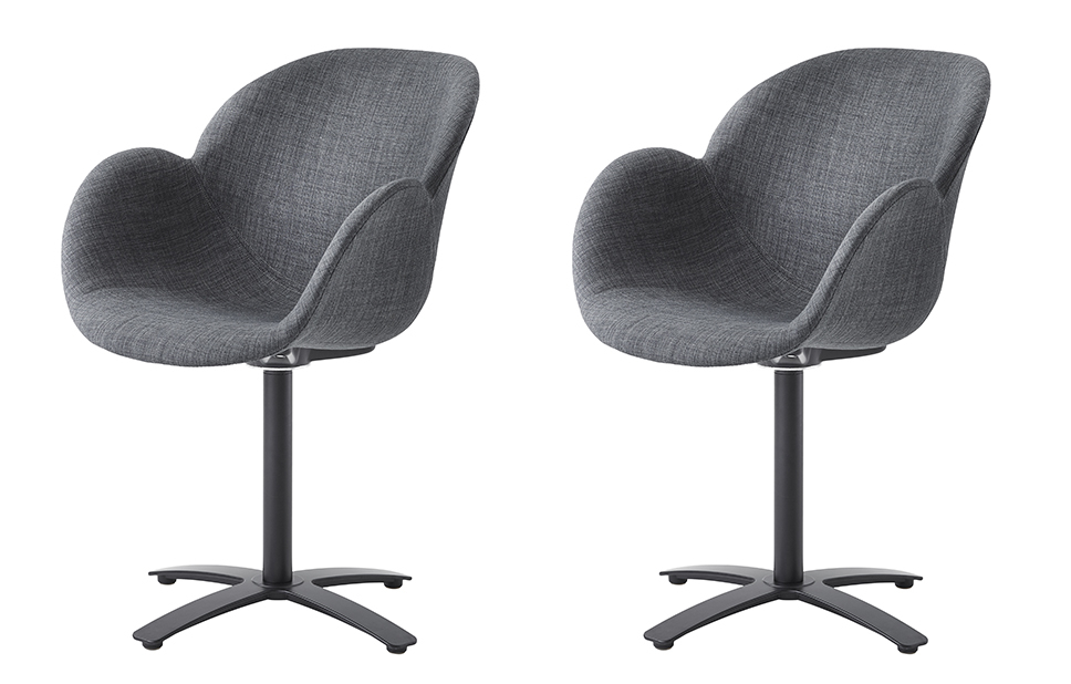 Manor Grey Swivel Chairs For Most Current Grey Swivel Chairs – Home Furniture – Out & Out Original (View 9 of 20)