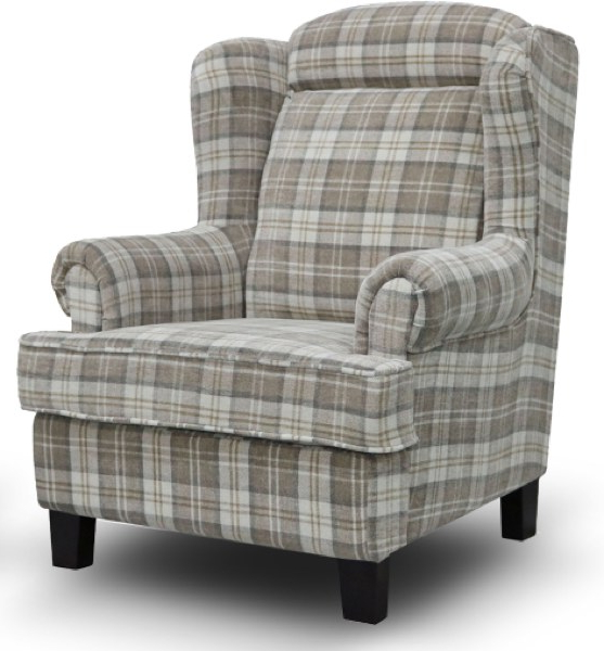 Manor Wing Chair Beige – Aidan Clarke & Co Ltd Regarding Well Liked Manor Grey Swivel Chairs (View 20 of 20)
