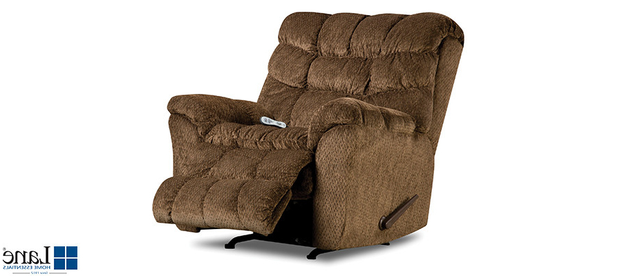 Mari Swivel Glider Recliners Regarding Most Up To Date Aegean Chocolate Rocker Recliner With Heat Massage Sault Ste Marie (View 9 of 20)