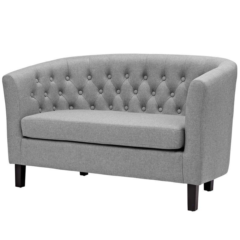Mcdade Ash Sofa Chairs For Favorite Zipcode Design Holderman Loveseat (View 9 of 20)