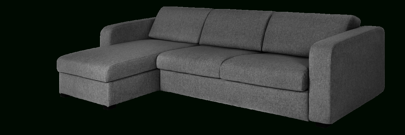 Mcdade Ash Sofa Chairs For Well Liked Porto 3 Canapé Lit 3 Places En Tissu Avec Angle Réversible Et (View 11 of 20)