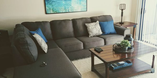 Mcdade Graphite Sofa For Sale In Long Beach, Ca – Offerup With Regard To Well Known Mcdade Graphite Sofa Chairs (View 13 of 20)