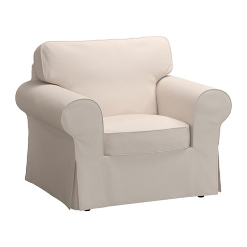 Mesa Foam Oversized Sofa Chairs With Most Up To Date Ektorp Armchair – Lofallet Beige – Ikea (View 15 of 20)