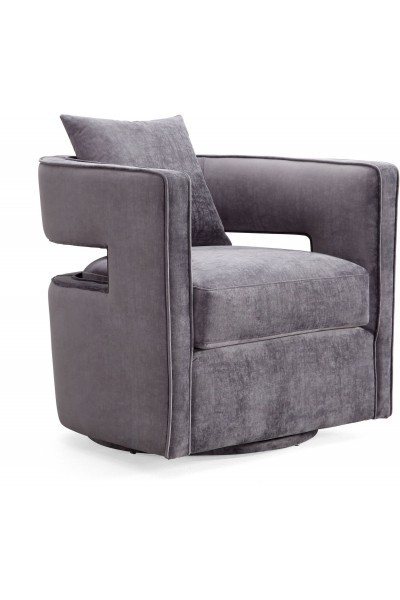 Metropolitandecor In Best And Newest Grey Swivel Chairs (View 11 of 20)