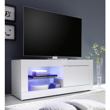 Most Current 100Cm Width Tv Units With Dolcevita Gloss Tv Stand – Tv Stands (1235) – Sena Home Furniture (View 13 of 20)