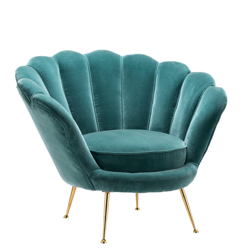 Most Current Cameron Sofa Chairs With Regard To Trapezium Cameron Deep Turquoise Chair (View 17 of 20)