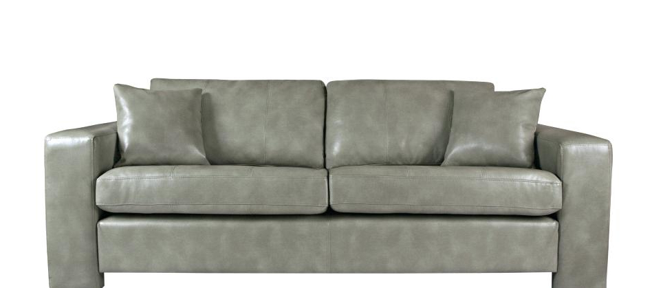 Most Current Caressa Leather Dove Grey Sofa Chairs Regarding Dove Grey Leather Sofa – Hotelessemanasanta (View 15 of 20)