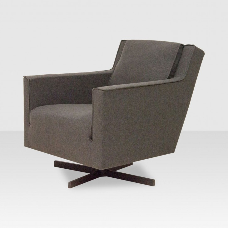 Most Current Charcoal Swivel Chairs Intended For Rogen Swivel Chair Charcoal – Elte Market (View 13 of 20)