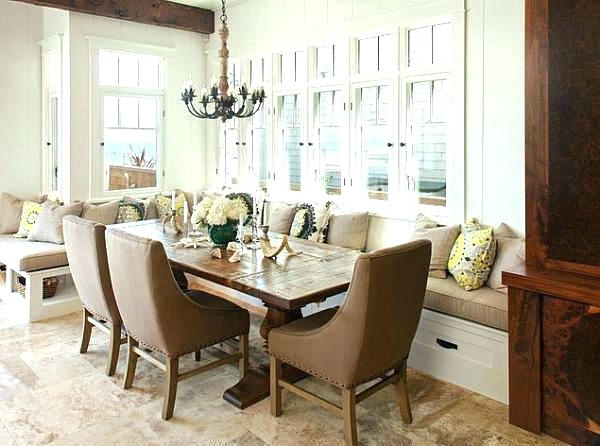 Most Current Dining Room Sofa Seating – The Diningroom For Dining Table With Sofa Chairs (View 15 of 20)